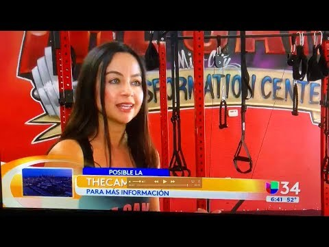 The Camp Transformation Center - Univision Interview w/ Alejandra Font