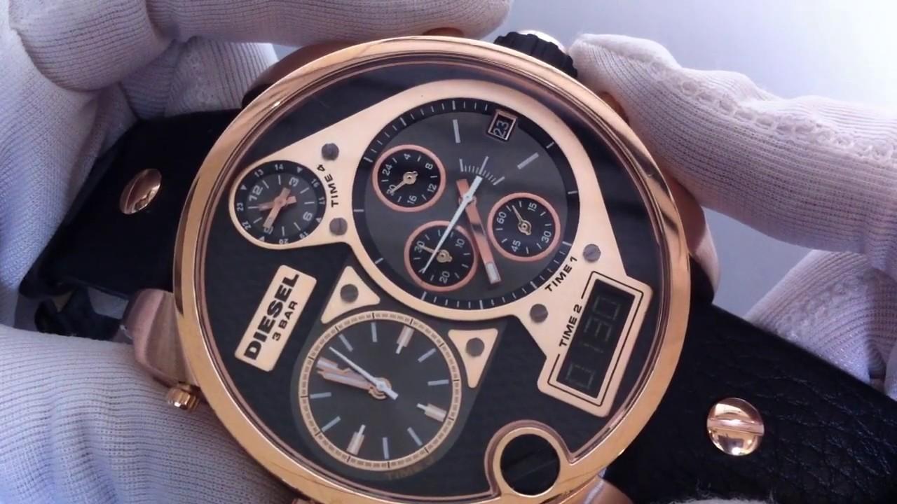 men s diesel sba badass oversized big watch dz7261