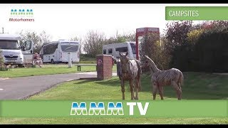 MMM TV - motorhome campsite review Wells Touring Park Somerset