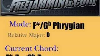 f gb phrygian backing track for any instrument