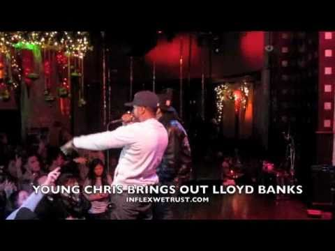 YOUNG CHRIS (YOUNG GUNZ) PERFORMANCE AT SOBS BRINGS OUT LLOYD BANKS & YOUNG NEEF
