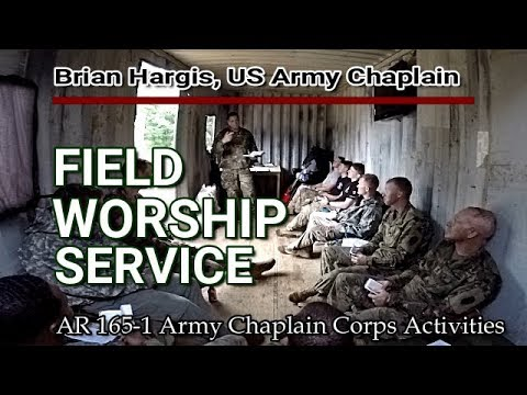 US Army Field  Worship Service (2)