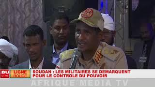 LIGNE ROUGE DU 28 05 2019 SOUDAN : LES MILITAIRES SE DÉMARQUENT POUR LE CONTRÔLE DU POUVOIR