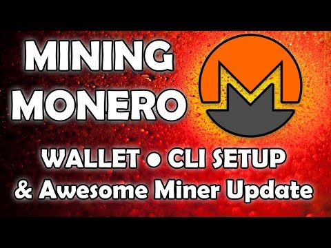 Mining Monero Post Fork - nVidia & AMD - Wallet, Miner, & Pool Setup, Plus Awesome Miner Update