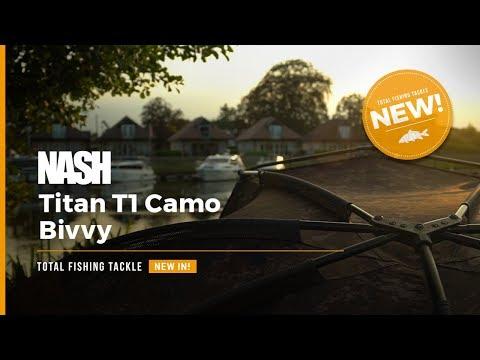 NEW   Nash Titan T1 Camo Bivvy   Mike Wilson