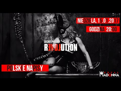 #secretprojectrevolution - Madonna & Steven Klein (2013) Trailer PL