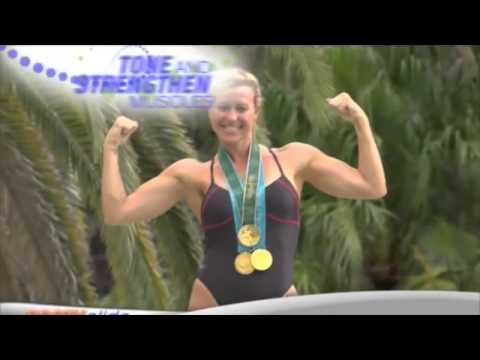 Olympic Swimmer Brooke Bennet Flexing Biceps