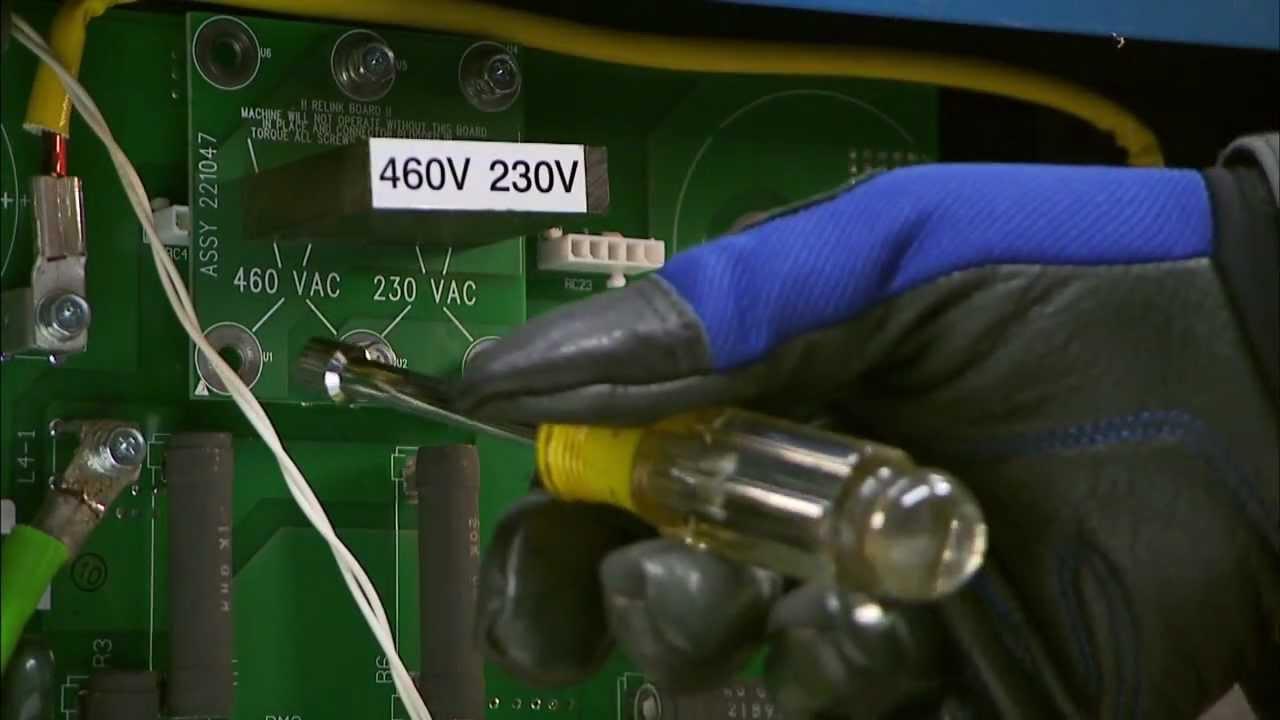 millermatic 350p mig welder re linking [ 1280 x 720 Pixel ]