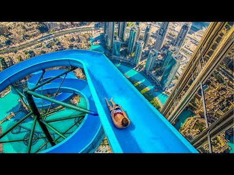 do not go on this water slide... very scary!