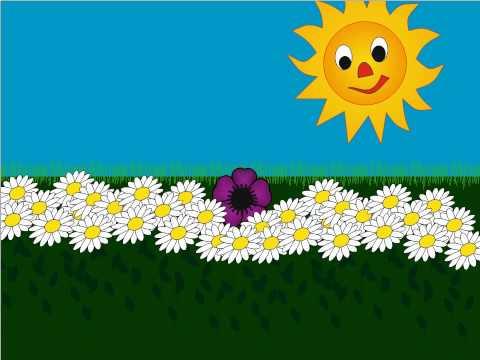 Fiore Viola Canzone | canzone fiore viola | canzoni per bambini