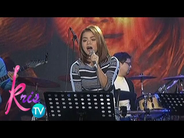 "Kris TV: Juris sings ""Listen"""