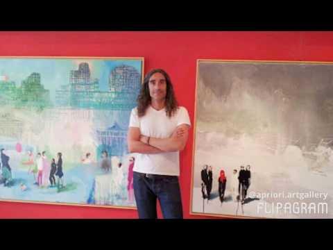 Los pintores y escultores de Art Gallery Apriori Panama