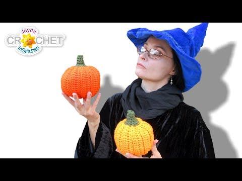 Stuffed Pumpkin – Jayda InStitches Halloween Crochet Special!