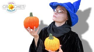 Stuffed Pumpkin - Jayda InStitches Halloween Crochet Special!