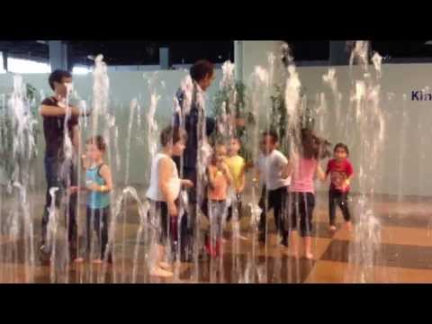 PlayFountain® by Ice-World at trade show Cologne