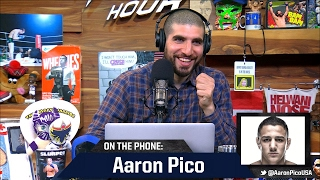 Bellator Prospect Aaron Pico Explains Why He Wanted to Fight Veteran in Pro MMA Debut