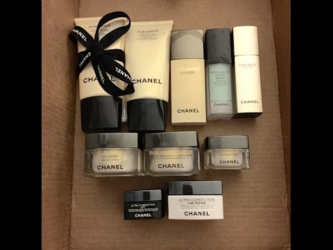 Chanel Sublimage Skincare Review