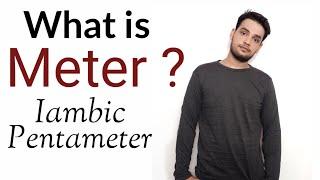 Meter : Iambic Pentameter, Trimeter, TetrameterHexameter in Hindi