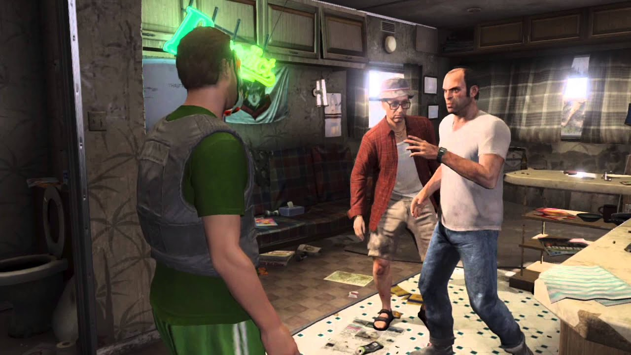 Gta 5 Online Meeting Trevor And How To Do Missions For