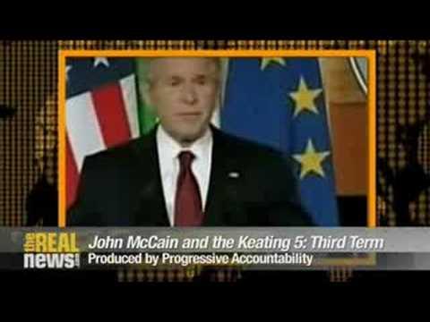 McCain's straight mess express