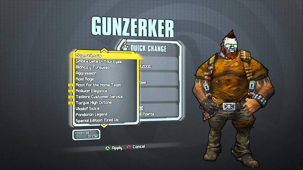 Borderlands 2 - Gunzerker Supremacy Pack (ZerkerBot2000 ... Borderlands 2 Max Backpack