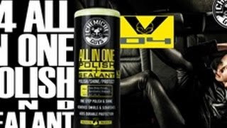 1 step paint polish protection chemical guys v4 all in one polish sealant