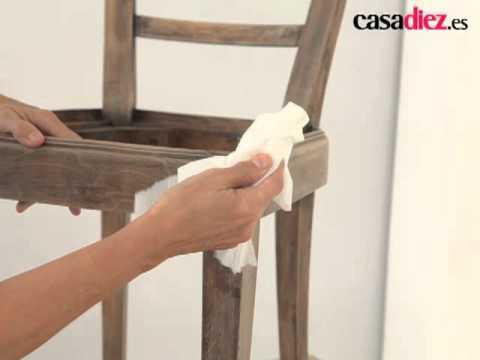 Pintar y youtube - Pintar sillas de madera ...