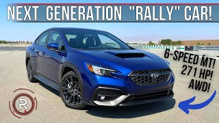 The 2022 Subaru WRX Is A Turbocharged AWD Rally Inspired Sport Compact Car