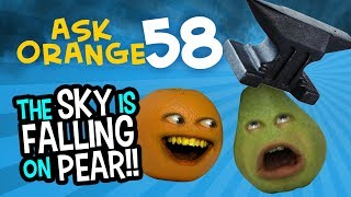 Ask Orange #58: Everything Falling on Pear! (Annoying Orange)
