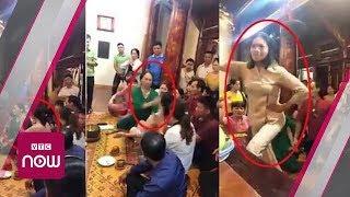 """Lào Cai: Cô đồng bị tát """"văng"""" vong"""