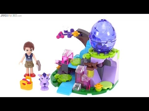 LEGO Elves Emily Jones & the Baby Wind Dragon review! 41171
