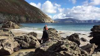 Cycling Great Western Greenway to Achill Island, Ireland - Campervan Camping - Sep 2016