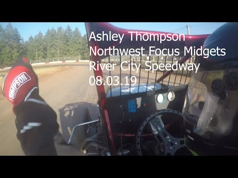 Ashley Thompson at River City Speedway 08.03.19
