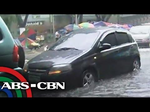 Afternoon rain floods Metro Manila