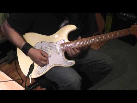 Yngwie Malmsteen hyperspeed alternate picking by Panos A.Arvanitis
