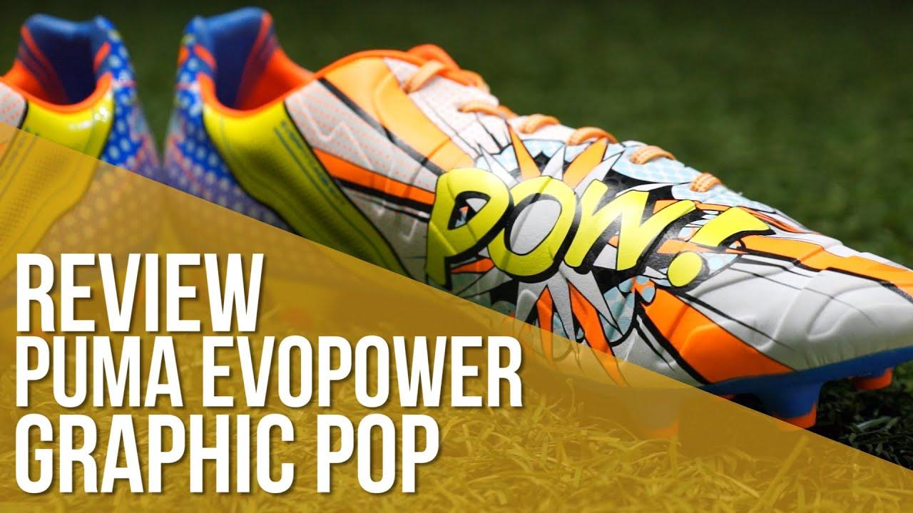 66392b9ae Review Puma EvoPower 1.2 Graphic Pop FG. Fútbol Emotion