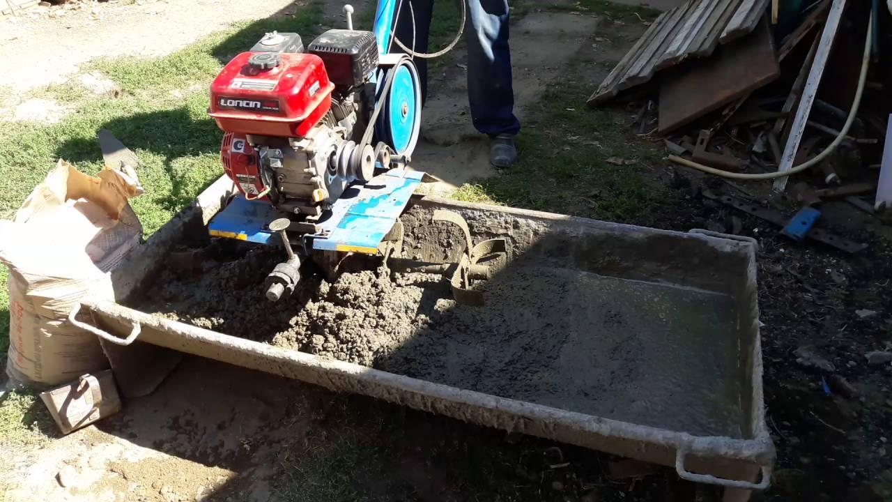 Бетон мотоблоком купить бетон в барнауле цена с доставкой в барнауле