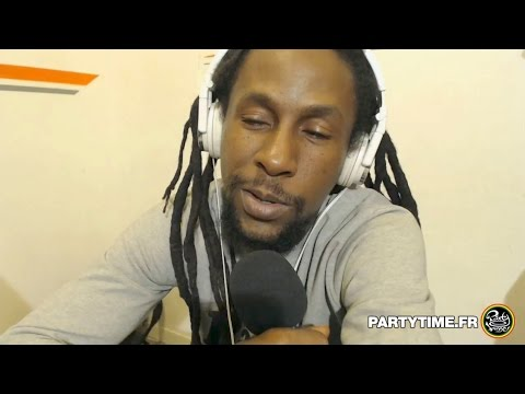 Jah Cure Mathieu Ruben et Asher Selector at Party Time Reggae Radio show   08 MAI 2016
