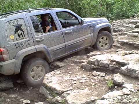 Drummond Island 2009 Doa Run Jeep Liberty Youtube