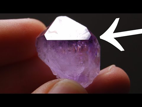 PLUCKING AMAZING AMETHYST CRYSTAL! ♦ JD'S VARIETY CHANNEL