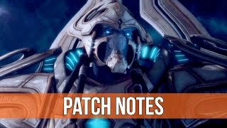 StarCraft 2 - Legacy of the Void: Patch Notes!