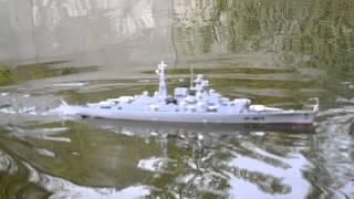 Радиоуправляемый катер - эсминец HT-3827A \ RC BattleShip HT-3827A