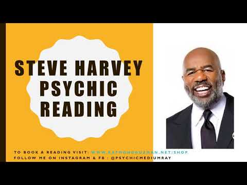 Steve Harvey Psychic Reading