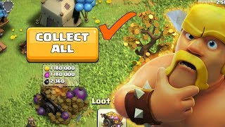 CLASH OF CLANS | Collecting inactive LOOT CART |