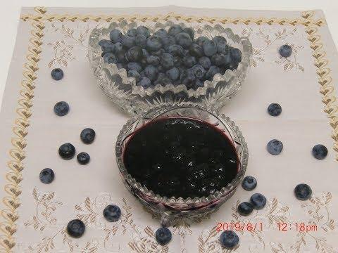Варенье из черники без добавления воды