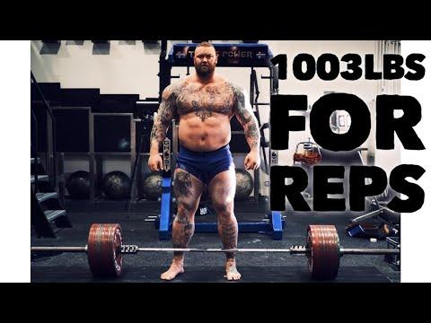 1003lbs/455kg PR DEADLIFT!