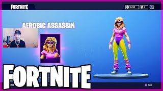 Fortnite Featured Items UPDATE: Aerobic Assassin (FREE!?) 8/11/2018