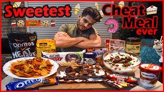 10,000 Calorie CHEAT MEAL |  Cake, Ice Cream & Nachos.. | MUKBANG
