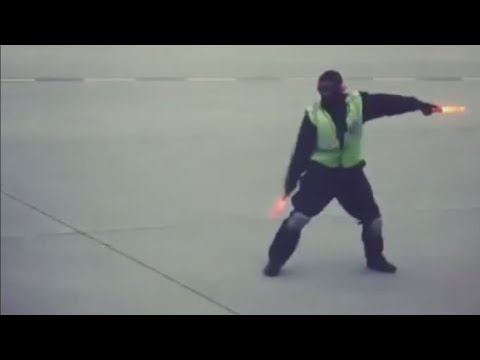 Video of dancing Toronto airport worker goes viral