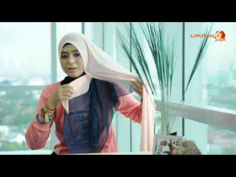 Cara Memakai Jilbab Segi Empat Modern Kreasi Terbaru  Tutorial Hijab Paris  YouTube